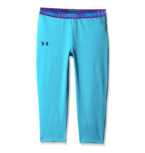 Dívčí legíny capri UNDER ARMOUR Hg Solid Fitness