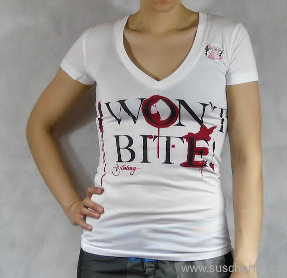 Dámské tričko Billabong I Wont Bite  3f6bf1d1bf