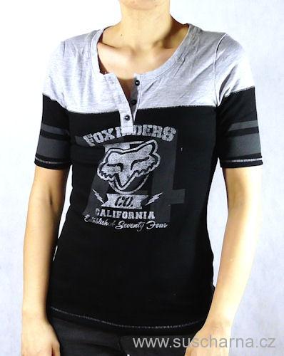 cbc99ebaf5dd Dámské tričko FOX THERMAL Super moto
