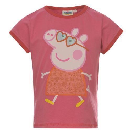 Dívčí tričko Prasátko Peppa pink