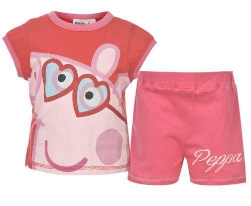 Dívčí letní set Prasátko Peppa Pink