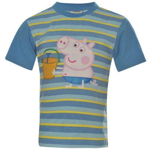 Chlapecké tričko Prasátko Peppa Beach