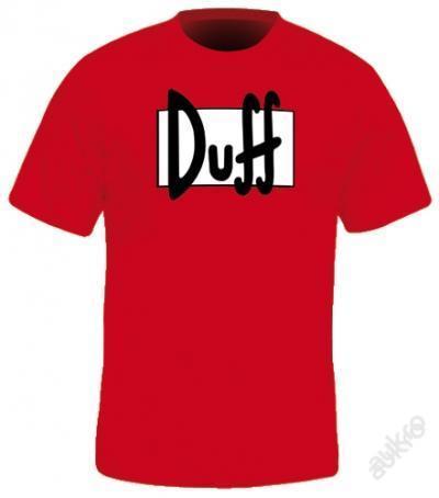Pánské tričko The Simpsons Duff
