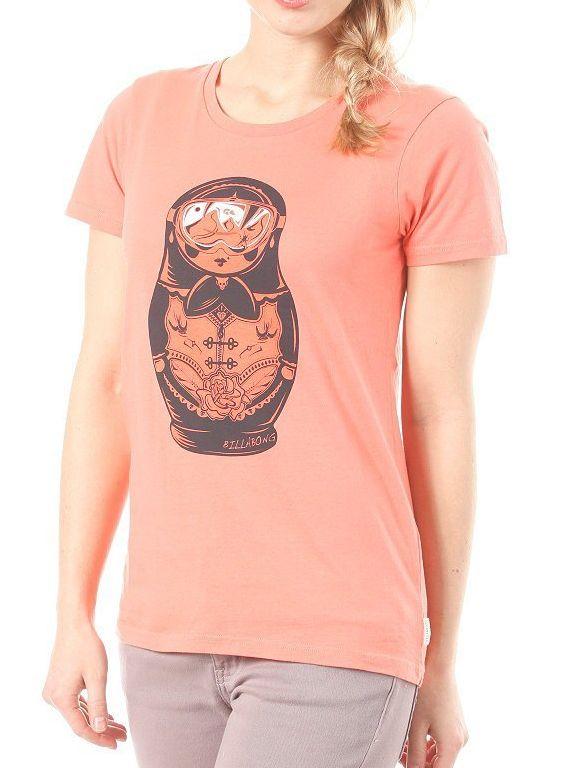 Dámské tričko Billabong Russian  8cbaa01b04