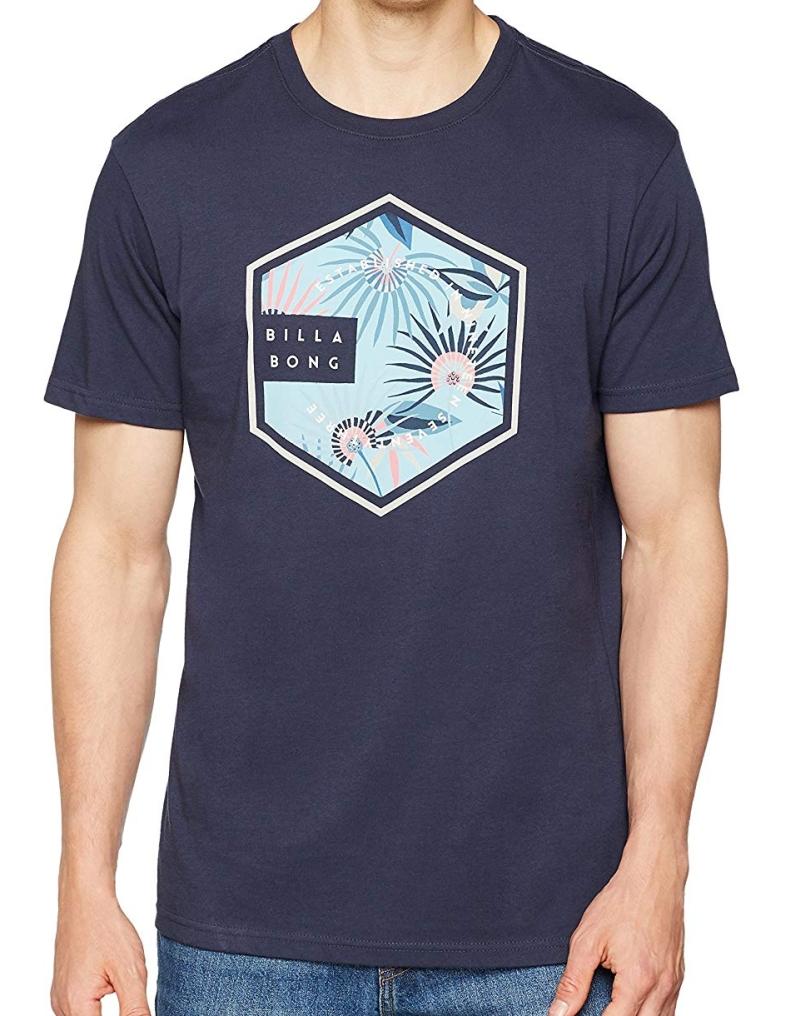 Pánské tričko BILLABONG Six  5c1f3d7bb3
