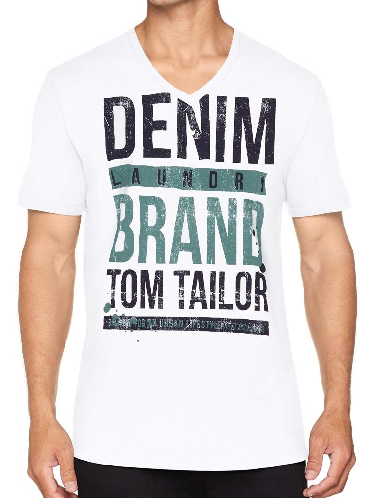 77ac516975b4 Pánské tričko TOM TAILOR Druck Slogan