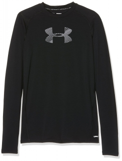 Chlapecké tričko UNDER ARMOUR Ls Long-Sleeve Shirt