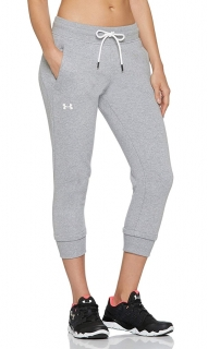 Dámské capri UNDER ARMOUR Cotton Fleece Slim Leg Crop