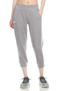 Dámské capri UNDER ARMOUR Featherweight Fleece Crop Capri