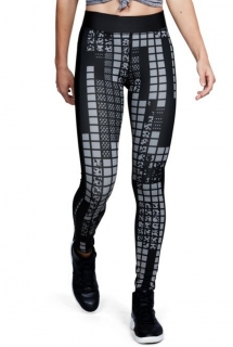 Dámské kompresní legíny UNDER ARMOUR Printed Leggings Compression