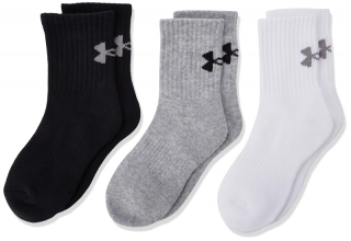 Ponožky UNDER ARMOUR Charged Cotton Crew - 6 párů