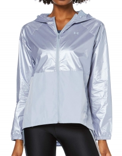 Dámská bunda UNDER ARMOUR Metallic Woven Jacket