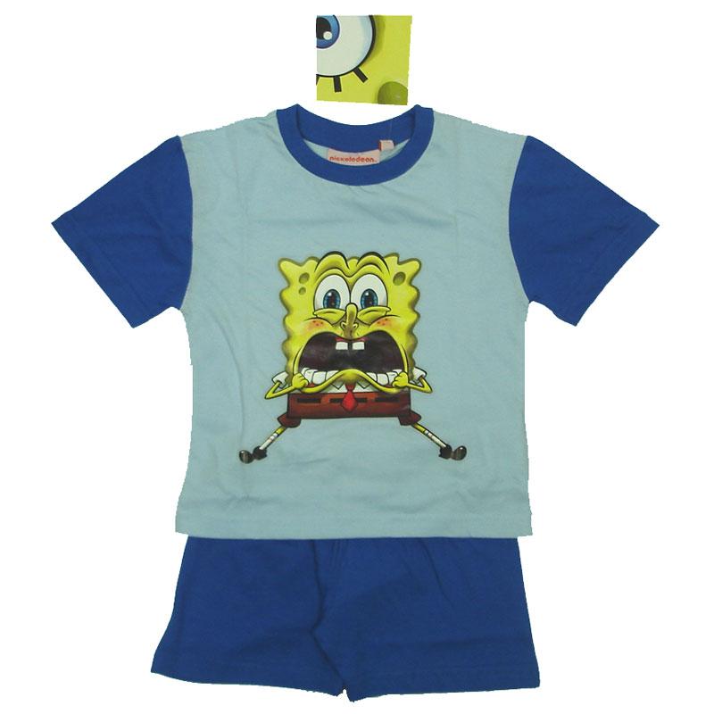 Chlapecké pyžamo Spongebob Scary