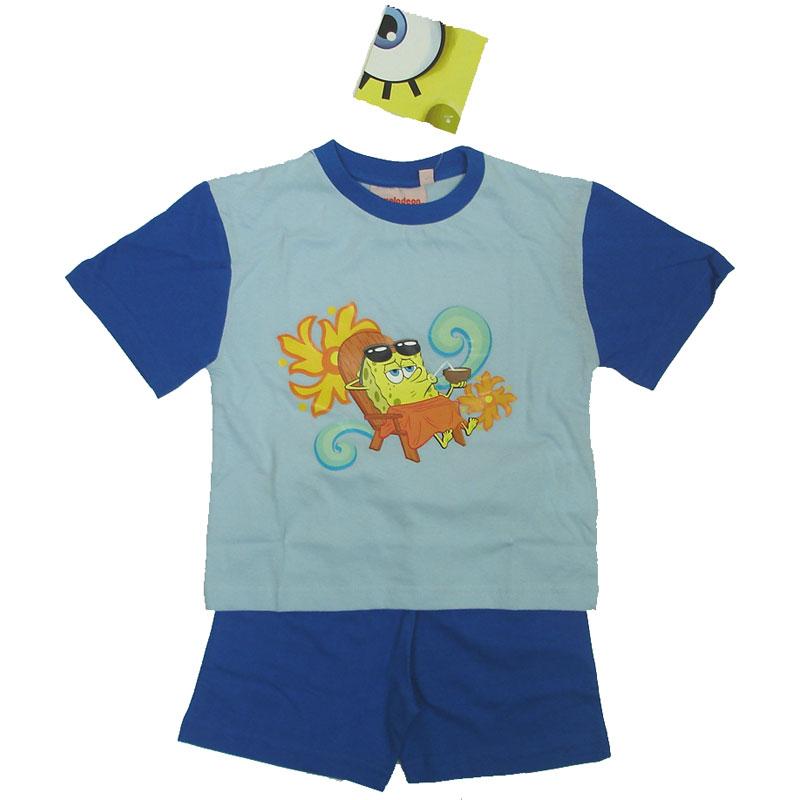 Chlapecké pyžamo Spongebob Hawai