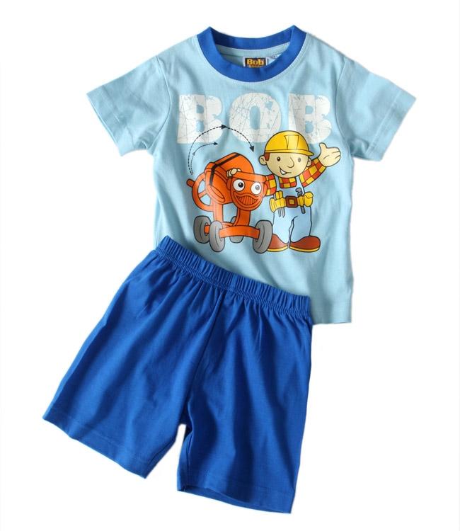 Chlapecké pyžamo Bořek Stavitel - Bob blue