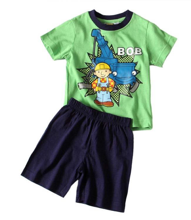Chlapecké pyžamo Bořek Stavitel - Bob green