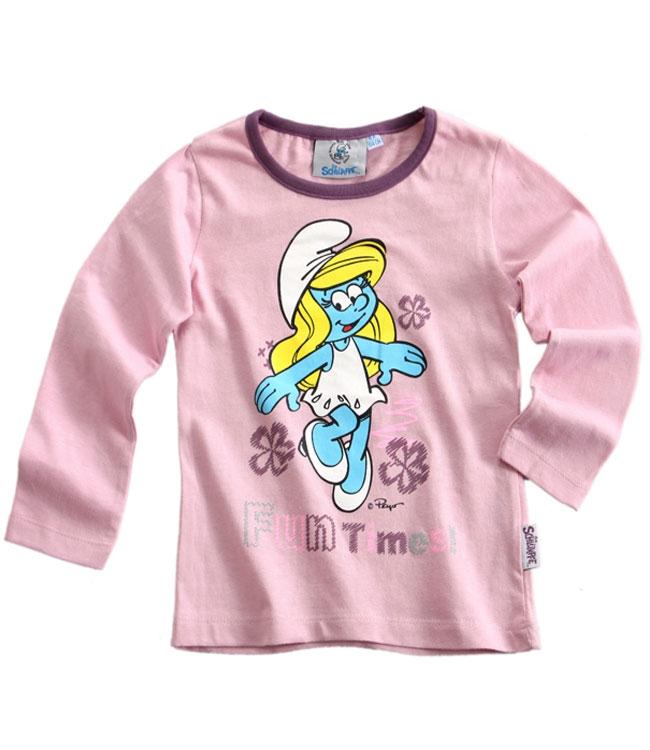 Dívčí tričko Šmoulové - Šmoulinka