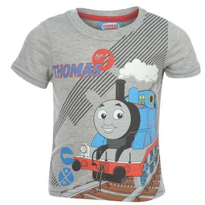 Chlapecké tričko MAŠINKA TOMÁŠ Grey Marl