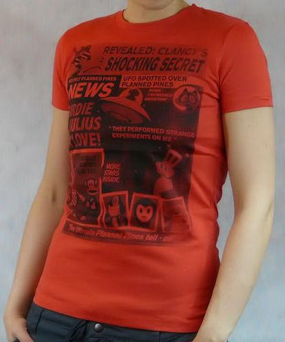 Dámské tričko PAUL FRANK Planned