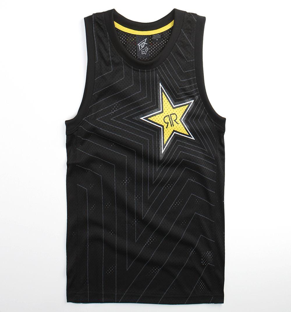 Pánské tričko FOX Rockstar Speed Burst Jersey