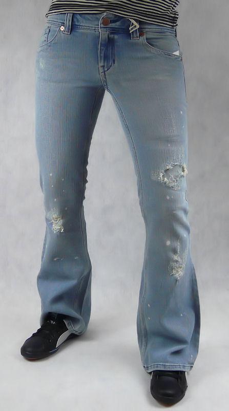 Fotografie Dámské jeans Roxy Rosilyn Destroy