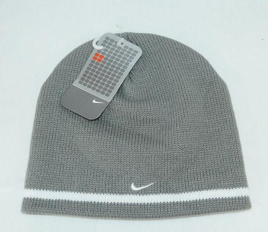 Zimní čepice NIKE Grey