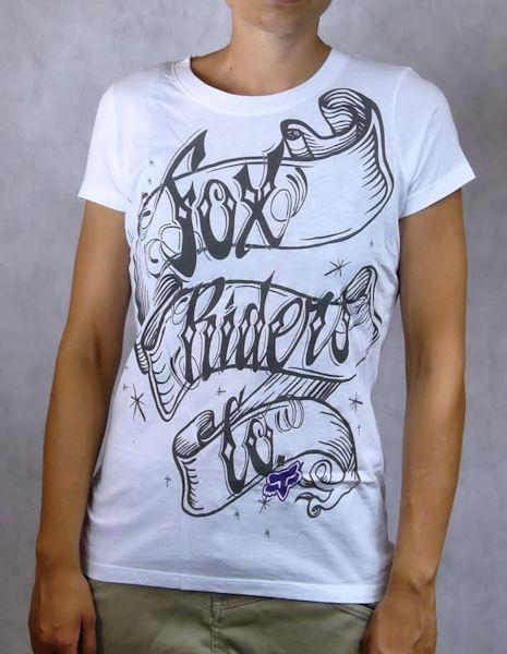 Dámské tričko FOX PLUS Cripted