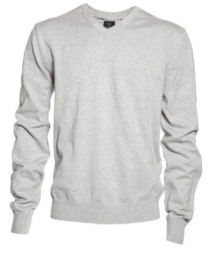 Pánský svetr HUMMEL Basic V-Neck