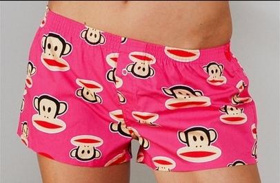 Dámské pyžamové šortky PAUL FRANK Poplin
